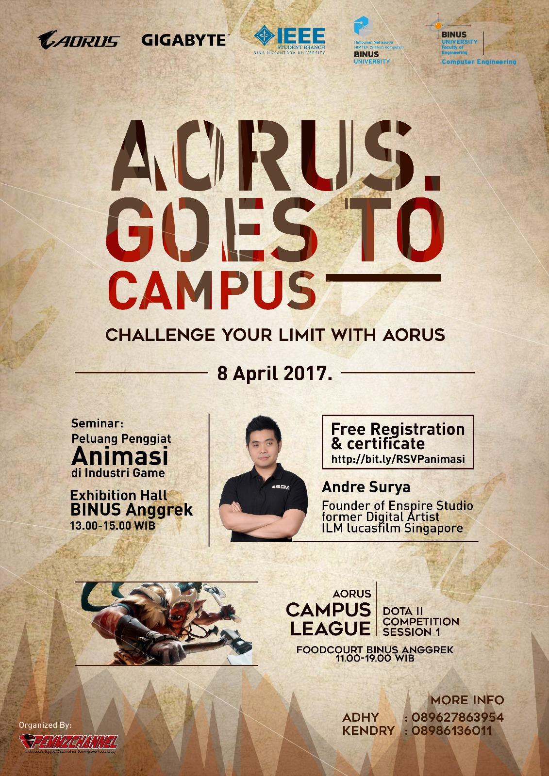 Aorus Campus League 2017