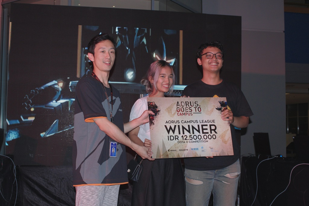 Aorus goes to Campus 2017 winner PCN
