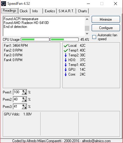 SpeedFan UI