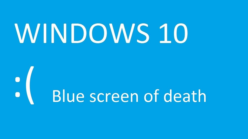 Blue Screen of Death Windows 10