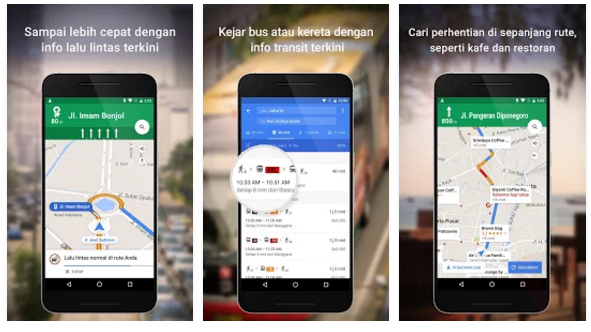 Google Maps Apps
