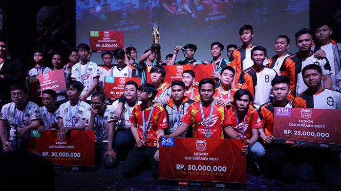 League of Legends Indonesia The Winner PCN
