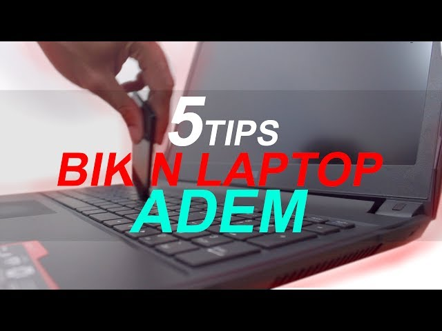 Tips bikin laptop adem PCN
