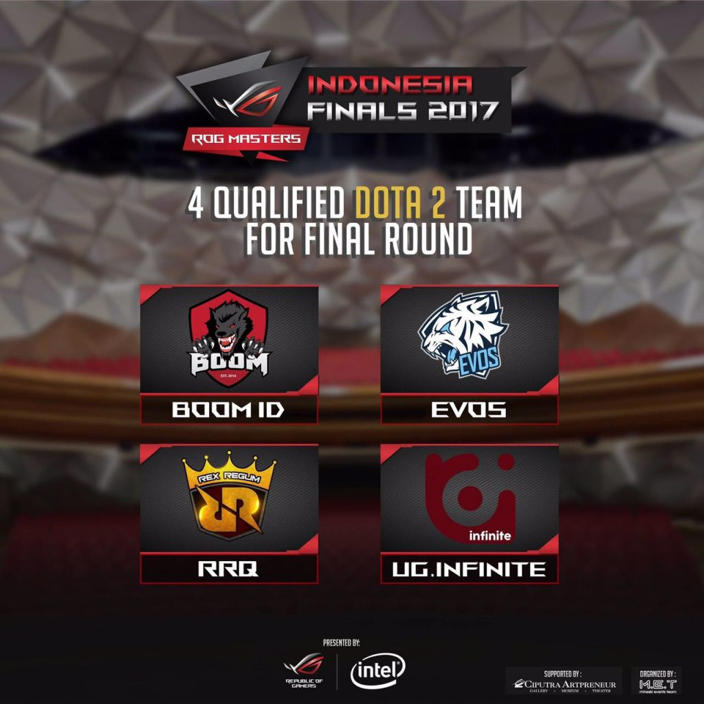 Finalis Asus ROG Master 2017 2