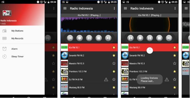 Aplikasi Radio Indonesia