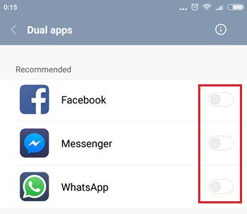 dua whatsapp xiaomi