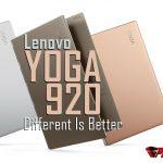 Lenovo Yoga 920 Color Option