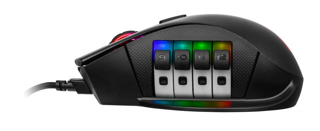 Tt eSPORTS NEMESIS Switch Optical RGB Gaming Mouse customable switch