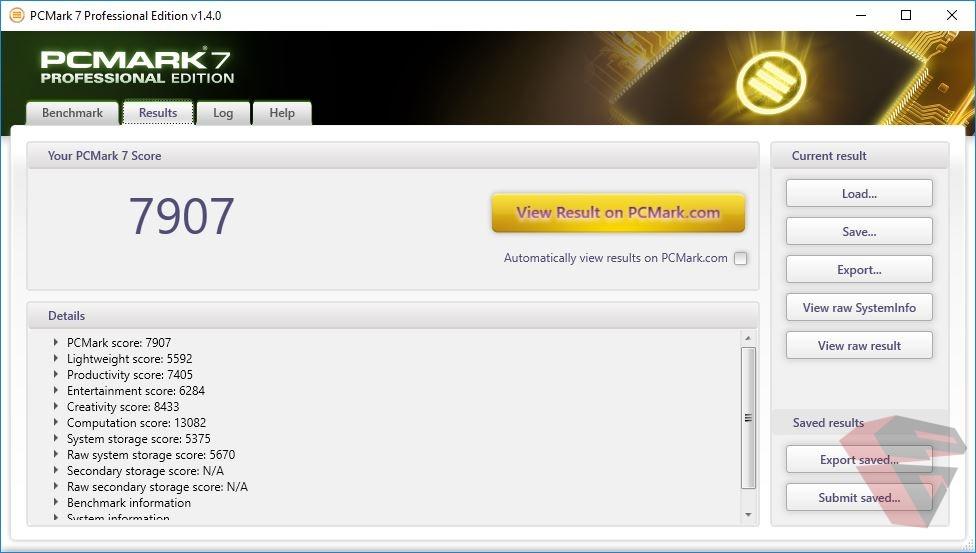 review Asus ROG Strix GL702ZC PCMark 7