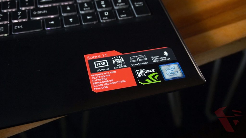 Review Gigabyte Sabre 15 P45W005