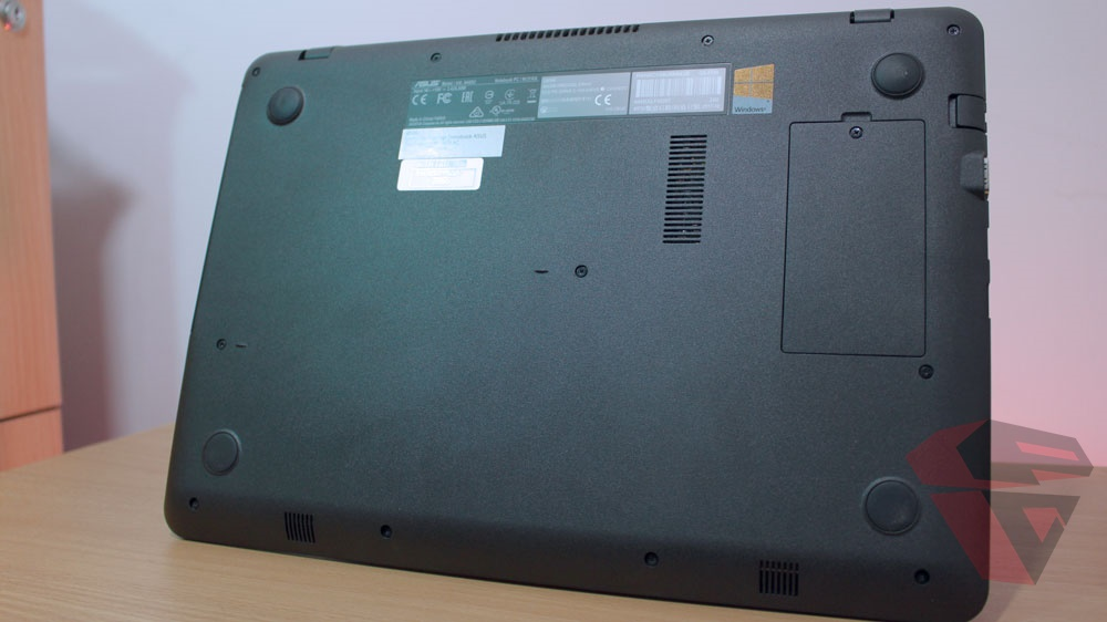 Review Asus A442UQ - FA020T - Bottom case