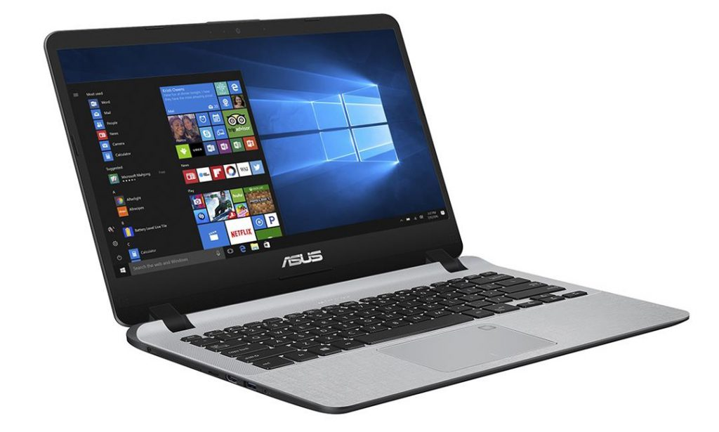 Asus vivobook A407U - Workstation side
