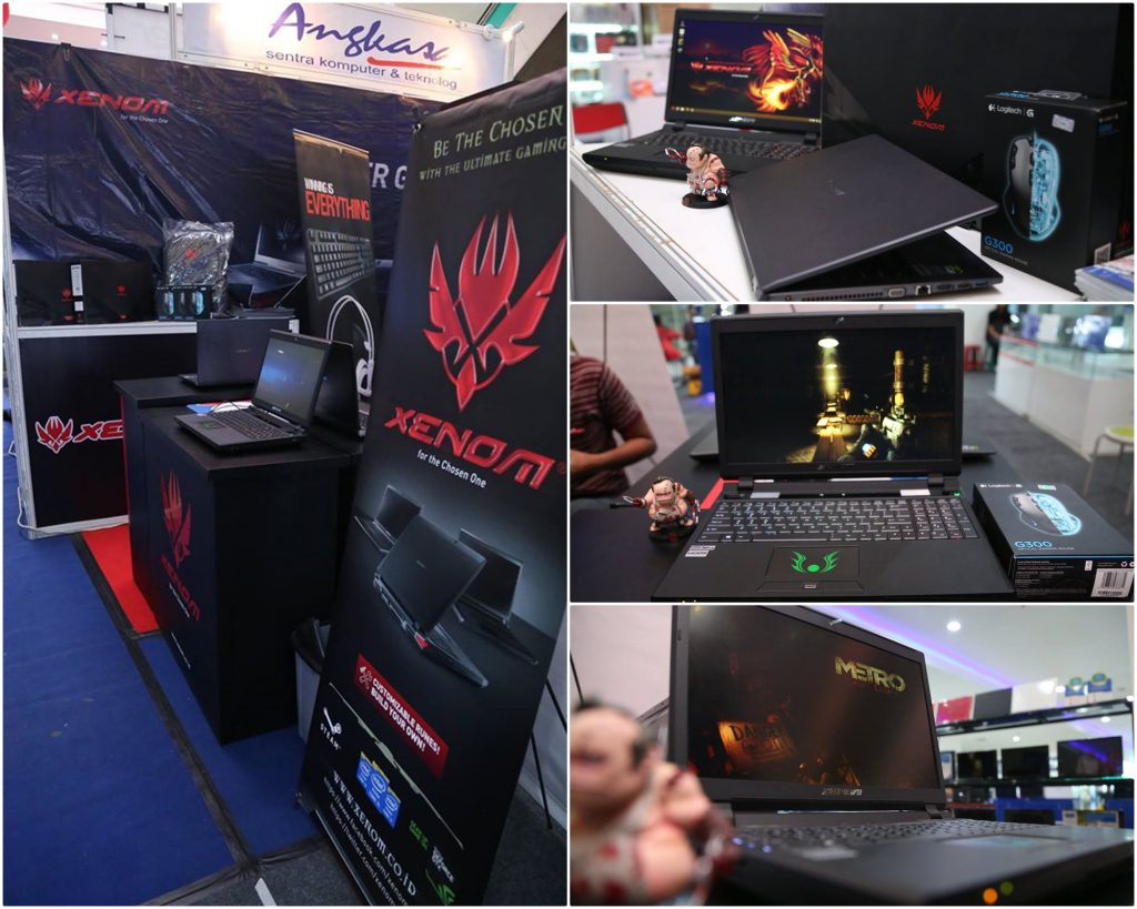 Display Unit Xenom menunggu para gamers Malang