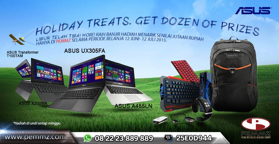 school holiday promo notebook asus
