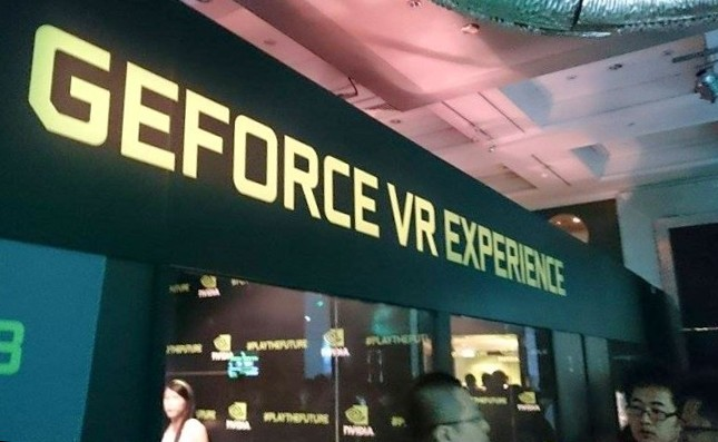 Geforce VR Experience Zone