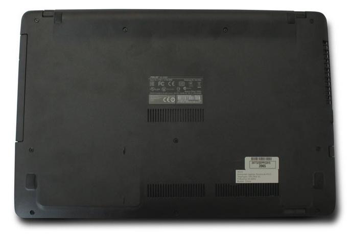 Area Bottom case Asus X550ZE