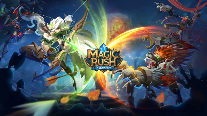 magic rush heroes