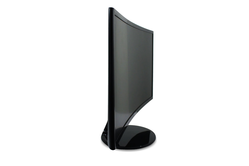 curved monitor samsung side
