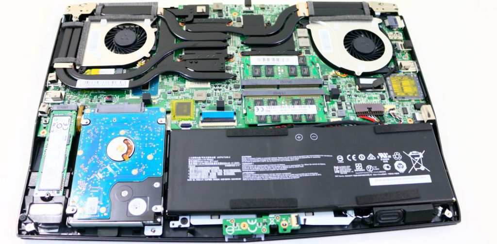MSI-GS40-Disassembly