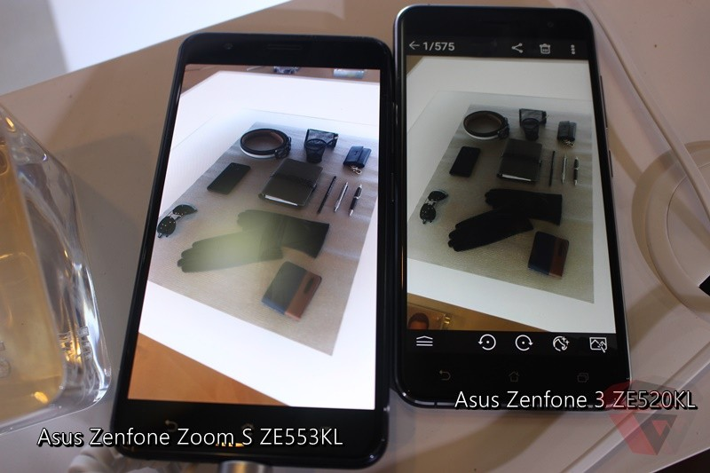 Asus Zenfone Zoom s Amoled screen