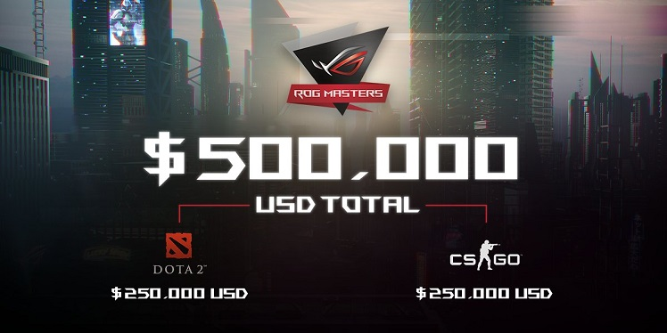 kompetisi game Asus ROG Master price pool