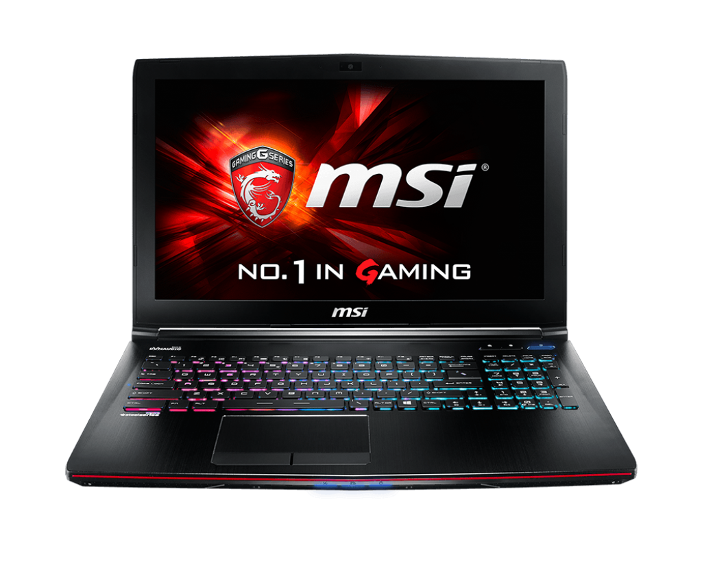 MSI GE62VR 7RF Apache Pro design and Display