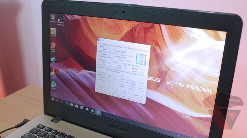 Review Asus A442UQ - FA020T - LCD panel quality