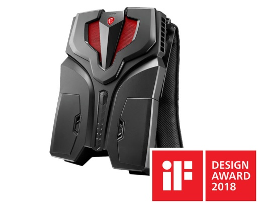 VR One Backpack PC di iF design award 2018