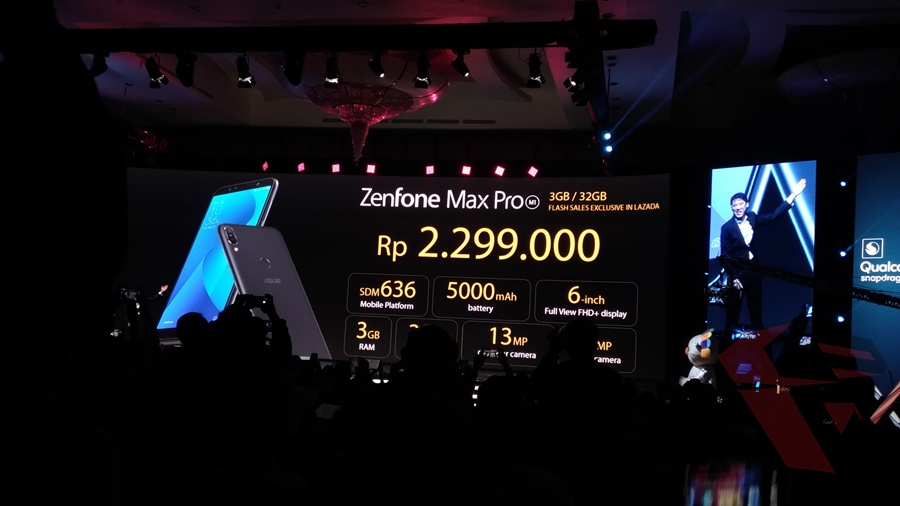 Launching Zenfone Max Pro M1 - Sales poin